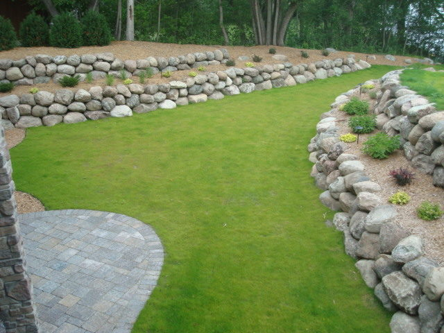 Landscaping Back Yard