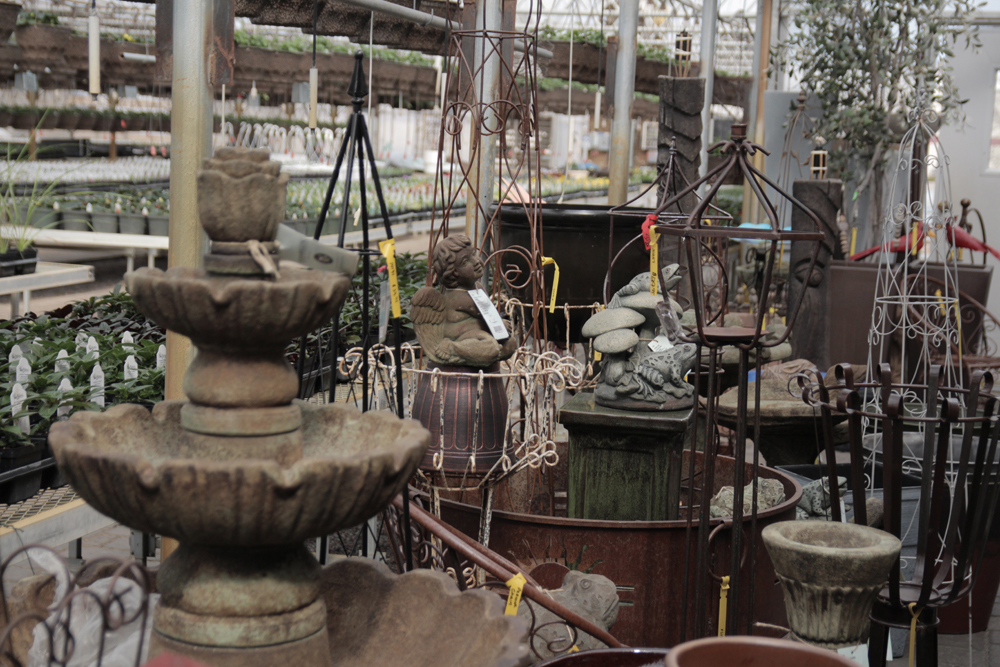 fountains and garden ornaments