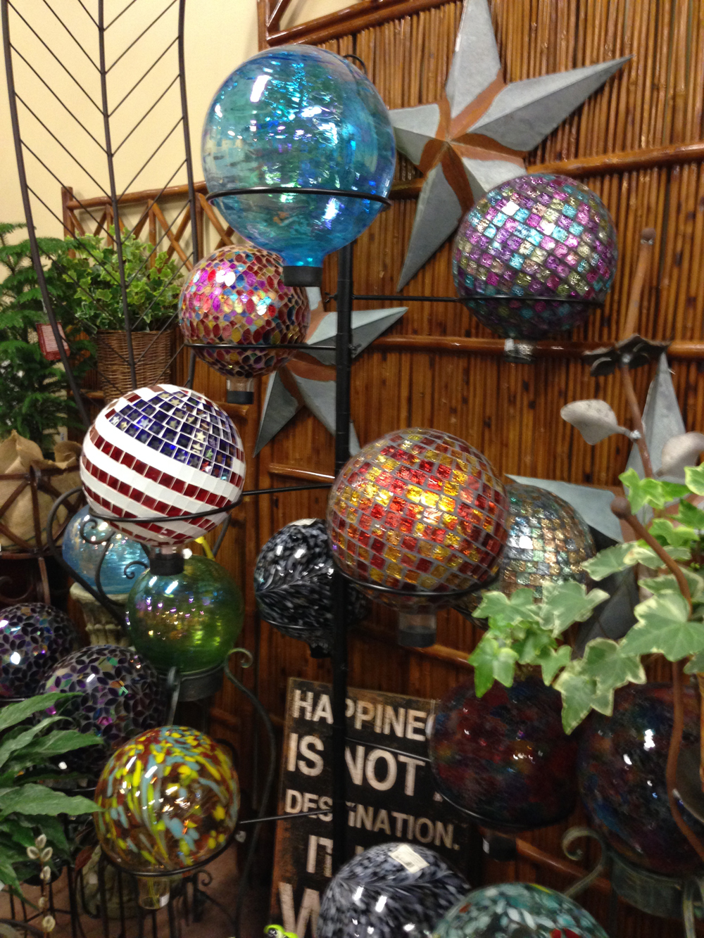 gazing balls for garden - Garden Decor