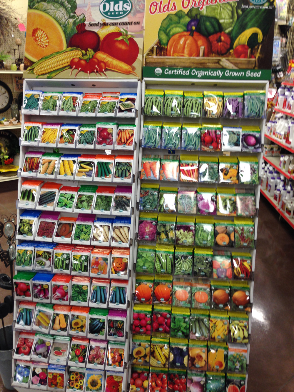 Superior Garden Center Seeds